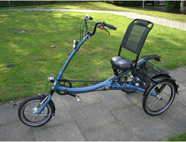 pfau tec scooter trike l velotec gmbh. Black Bedroom Furniture Sets. Home Design Ideas